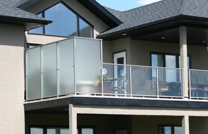 Glass Railings Edmonton Modular Technique