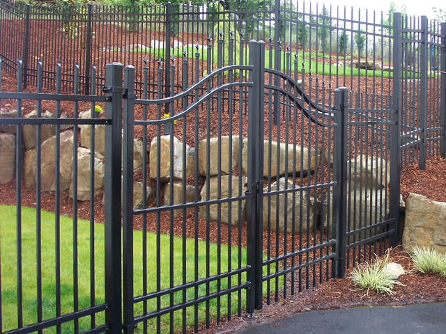 Metal Fence Edmonton Commercial Chain Link Fence
