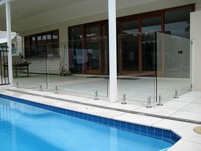 Frameless Spigot Balustrade Glass Guardrail Modular