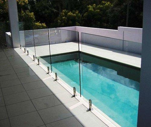 Frameless Spigot Balustrade Glass Guardrail Modular