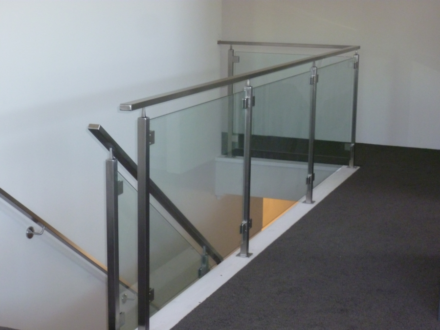 D Base Clamps For Glass Balustrade